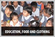 Education, Food and Clothing